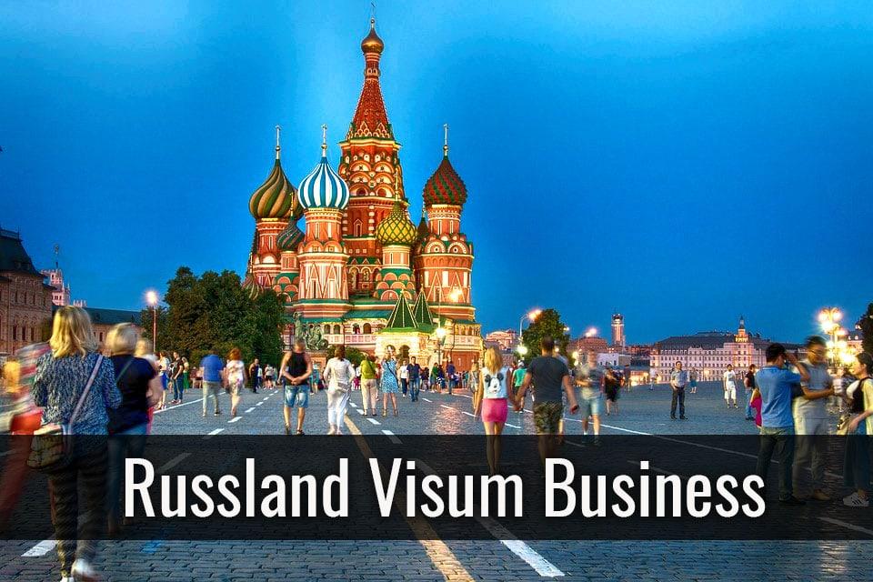 Russland Visum Business