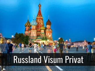 Russland Visum Privat