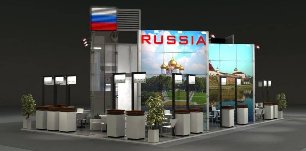 Russland Stand ITB Berlin