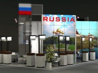 Russland Stand ITB Berlin
