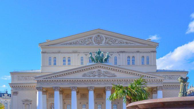 Moskau: Bolschoi Theater