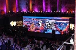 Sankt Petersburg: World Travel Award - Zeremonie