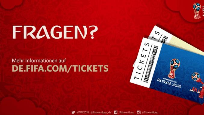 WM Tickets bestellen