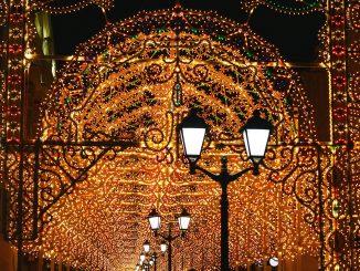 Wintermärchen Moskau Neujahr