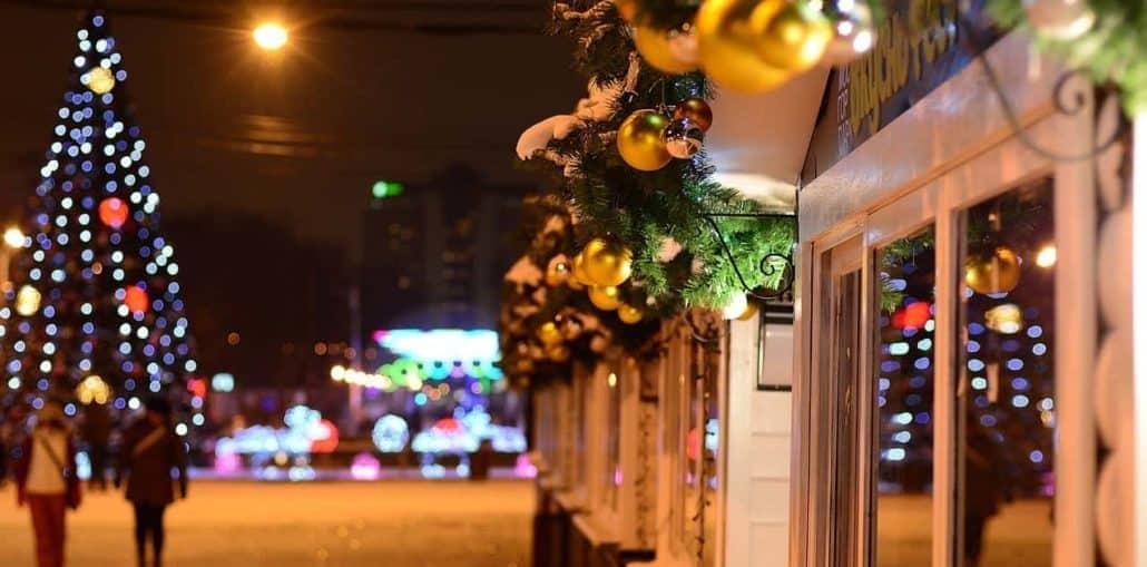 Winter Weihnachten Silvester Moskau