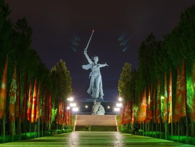Wolgograd: Mamaew Kurgan - Russlandvisum von Paneurasia