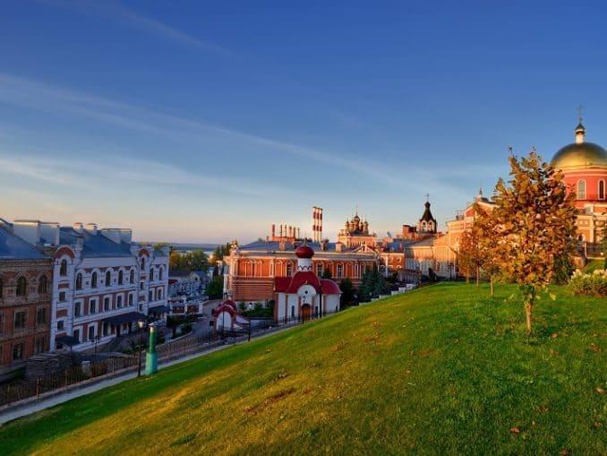 Samara: Klöster und Kirchen - Visum von Paneurasia