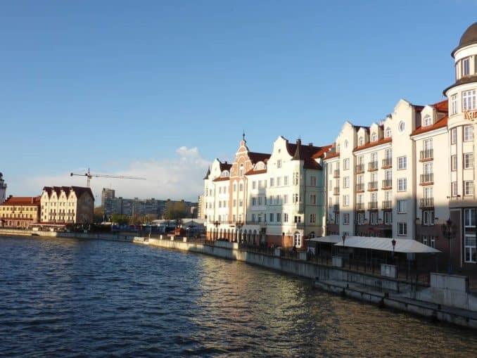 WM Stadt Kaliningrad Königsberg