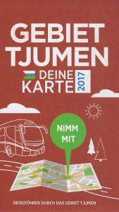 Karte der Region Tjumen