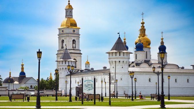 Tobolsker Kreml in der Region Tjumen