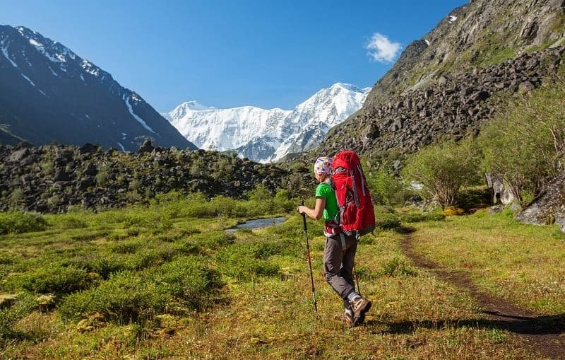 Altai: Belucha im Akkem-Tal