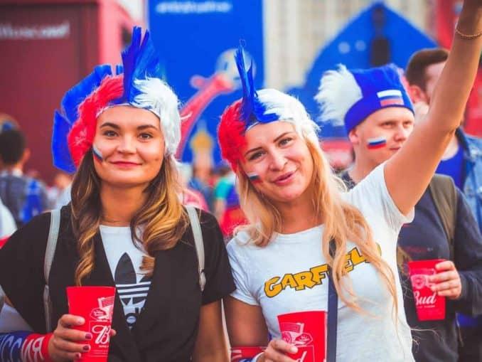Russische Fans