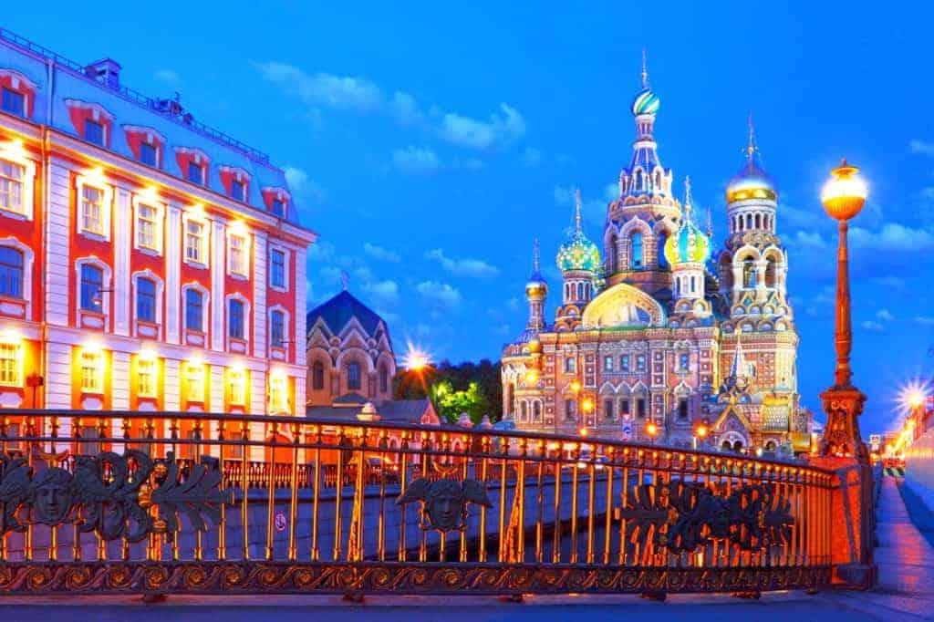 Sankt Petersburg: Auferstehungskirche oder Erloeserkathedrale