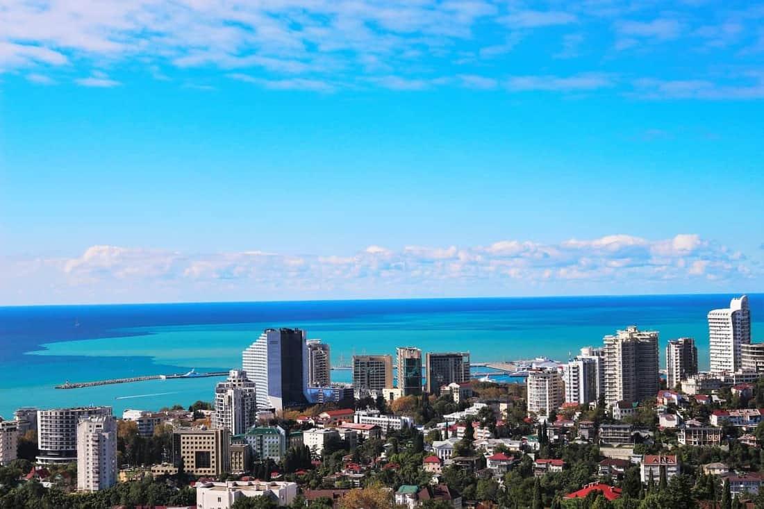 Sotschi am Schwarzen Meer ist eine Reise wert