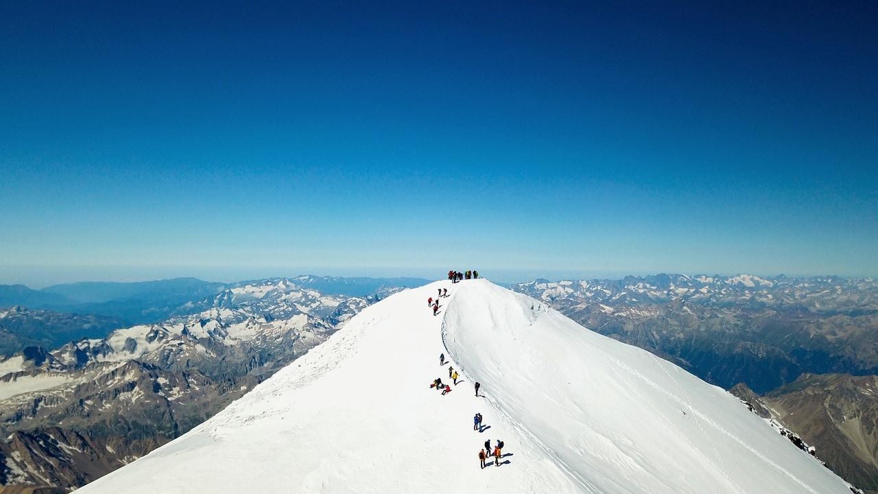 Elbrus im Kaukasusgebirge