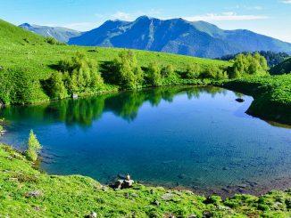 See im Kaukasus