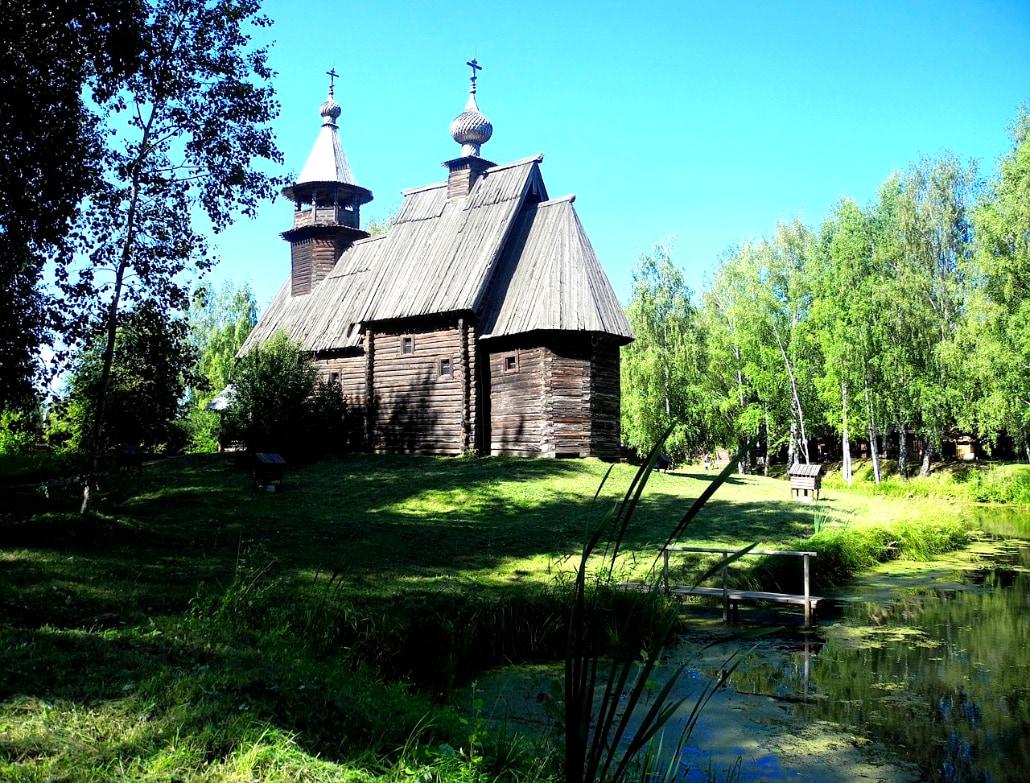 Kostroma Holzarchitektur