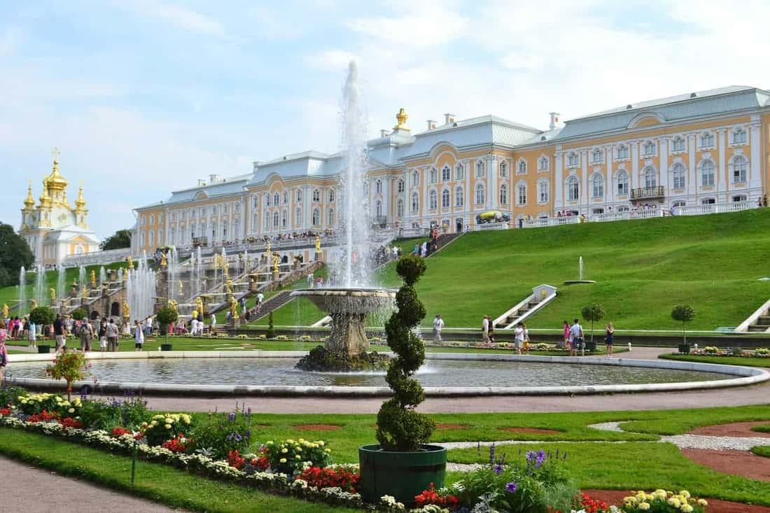 Peterhof in Sankt-Petersburg