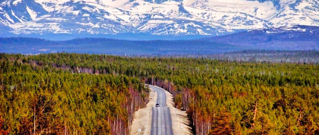 Russland Straße