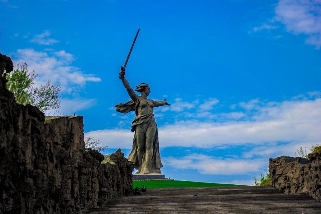 Stalingrad Statue