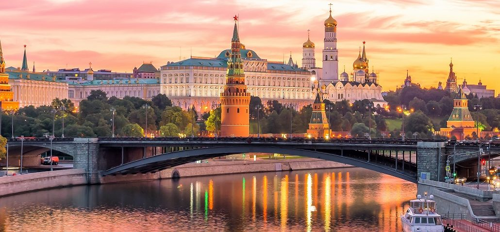 Москва - город и река в России