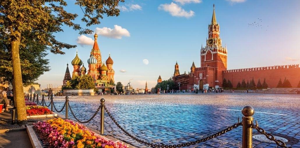 Reise nach Russland mit Visum