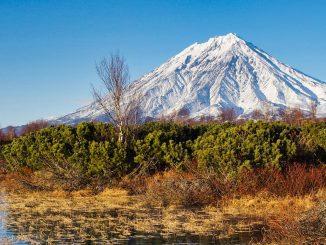 Kamtschatka Vulkan