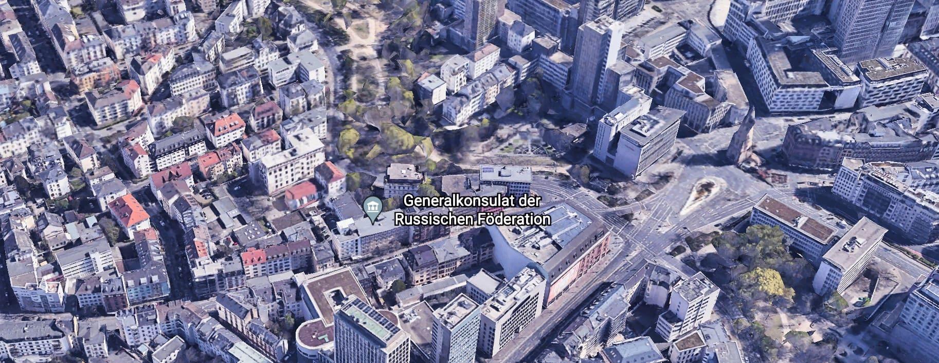 (Russische Botschaft) in Frankfurt am Main