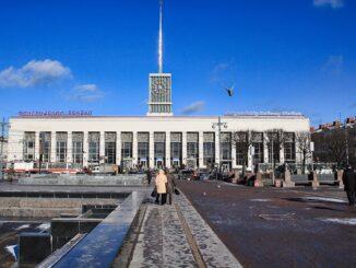 Finnländischer Bahnhof Sankt Petersburg